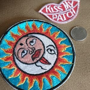 NWOT Set of 2 Awesome Patches